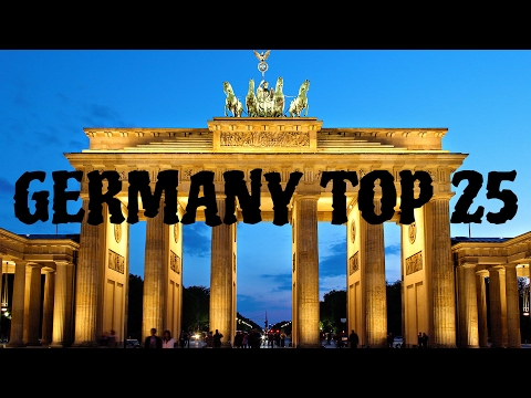 Germany's 25 Biggest Cities 2017