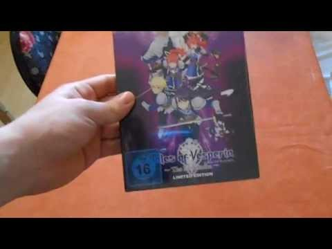 Unboxing Tales of Vesperia The First Strike Limited Edition [ deutsch - german ]