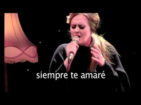 Adele - Lovesong (Subtitulada)