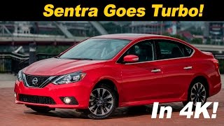 2017 Nissan Sentra SR Turbo First Drive Review and Road Test - DETAILED in 4K UHD!