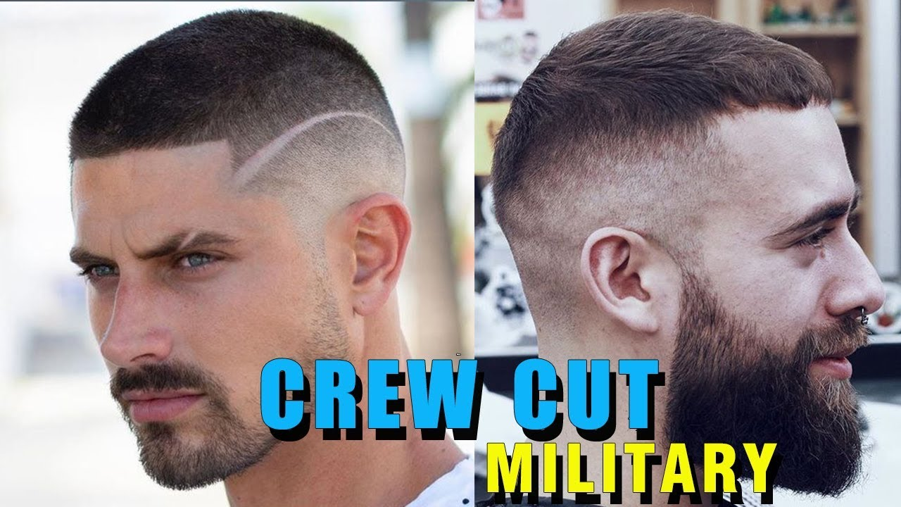 Crew Cut Military Haircut For Men Beautiful Channel Youtube