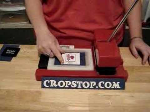 How to cut boss kut dies in a sizzix machine youtube for Craft die cutting machine