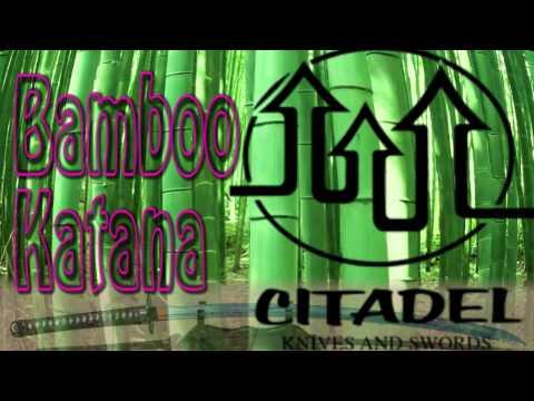 Citadel Bamboo Katana Review (sc4003)