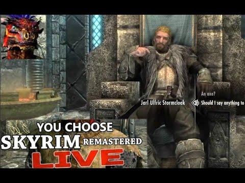 Skyrim - You Choose What We Do (E04) - GameSocietyPimps