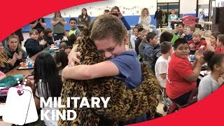 Military mom teams up with school for tearful surprise