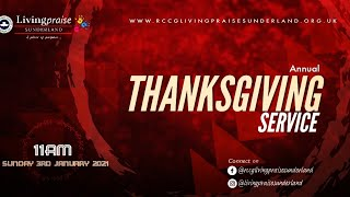 New Year Thanksgiving Service || ARISING IN HIS GLORY PART 1: SETTING GOALS