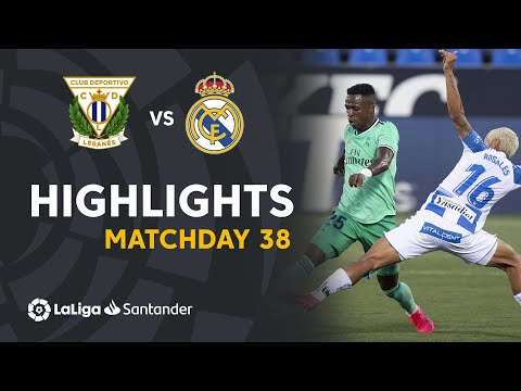 Leganes Real Madrid Goals And Highlights