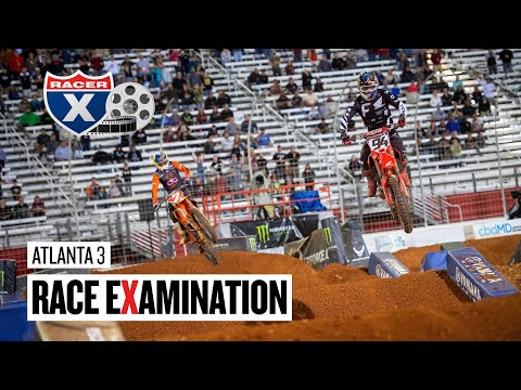 Ken Roczen's Crash, Marchbanks Collides with McAdoo & More | Atlanta 3 Race Examination