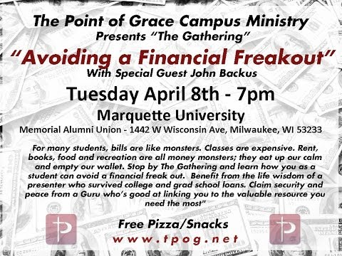 "The Gathering Series - ""Avoiding a Financial Freakout"""