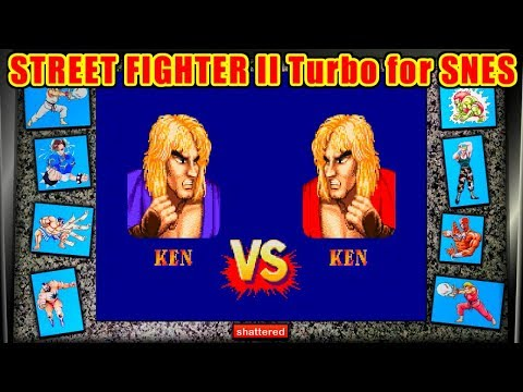 Ken(Quen) ノーコンティニュークリア - STREET FIGHTER II Turbo for SFC/SNES
