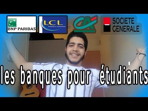 Meilleure banque pour étudiants en France - أفضل بنك للطلبة في فرنسا