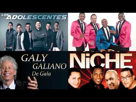 LA SALSA QUE HIZO HISTORIA MIX – NICHE-GUAYACAN- ADOLESENTES – GALY GALIANO