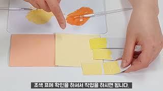 12. 건축도장기능사 페인트 조색, 견본과 함께 실전 …