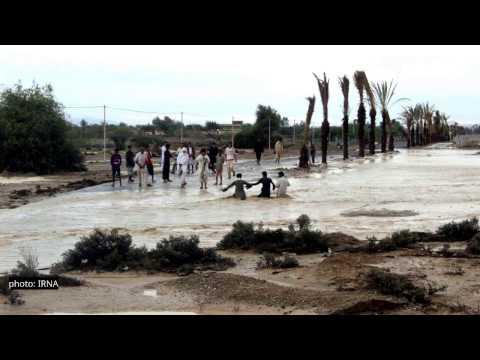 گزارش تصویری از سیل در استان سیستان و بلوچستان