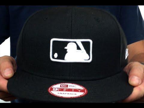23eaac96663 MLB Umpire  REPLICA SNAPBACK  Black-White Hat by New Era - YouTube