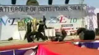 stollions dance group hemant sec sikar.wmv