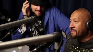 MC JUICE Destroys  2 Freestyles On R.A the Rugged Man Show