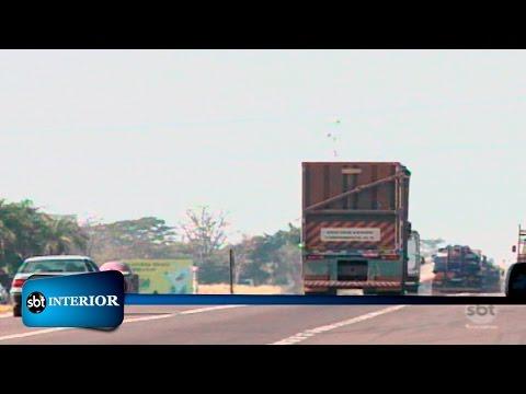 Os riscos que os caminhões canavieiros podem representar nas rodovias