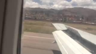 Жесткая посадка самолета, русских не пугает