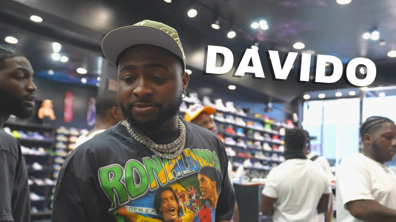 Davido Goes Shopping For Sneakers with CoolKicks