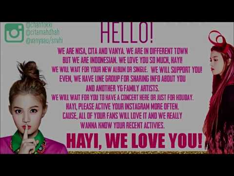 [Official Video] Love Letter To Lee Hi - International Fans' Messages