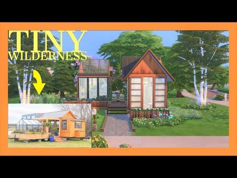 The Sims 4 Tiny Living - Speed Build - Tiny Wilderness / Imitation Sorta