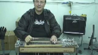 How to play San Antonio Rose on steel guitar E9th neck