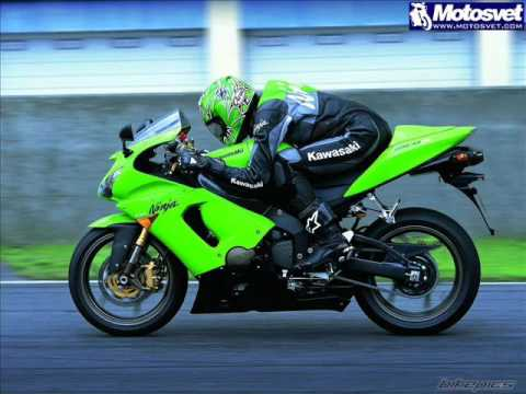2007 Kawasaki Ninja ZX6R Review and Specifications - YouTube