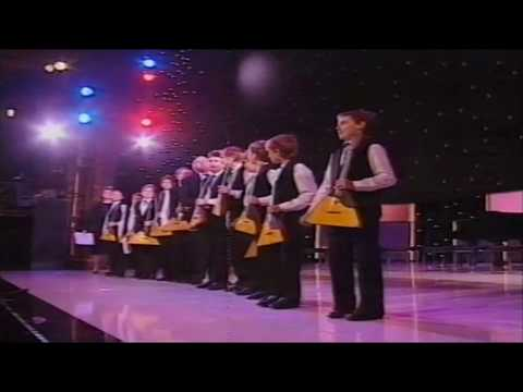 Young Voronezh Balalaikas (Royal Variety Performance) Victoria Palace Theatre 1991 HD