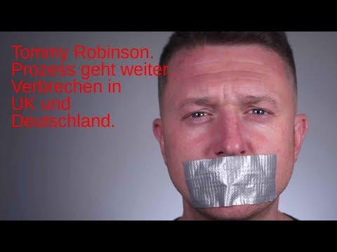 Tommy Robinson vorerst frei. UK und Deutschland. Todesfälle und der Umgang mit Gewalt.