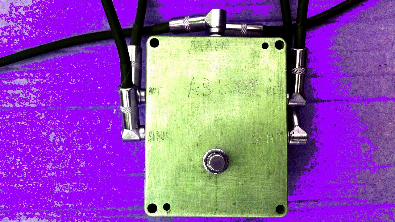 Diy True Bypass Loop Switcher Pedal Build Two Channel Youtube Byp Wiring Diagram