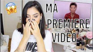 JE REGARDE MA PREMIERE VIDEO ! 😱