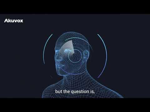 Видеодомофон с 3D распознаванием лица Akuvox R29C