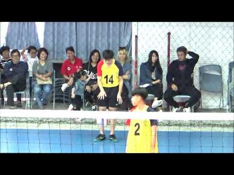 20191222:民生男排vs麥寮 第二局 13:25 全國媽祖盃排球賽
