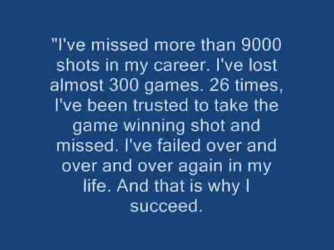Inspirational  quotes from Michael Jordan