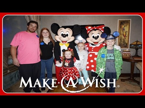 Make-A-Wish Trip! | Meet & Greets On Day 2