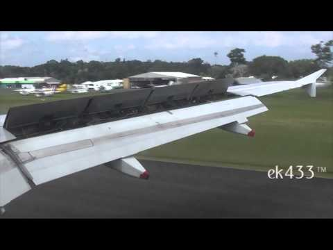 Air New Zealand | Airbus A320-200 | Port Vila Approach and Arrival