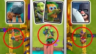 "OMG! GAMEPLAY OF NEW ""EXECUTIONER, BATTLE RAM, GOBLIN GANG CARDS & Dart Goblin! 