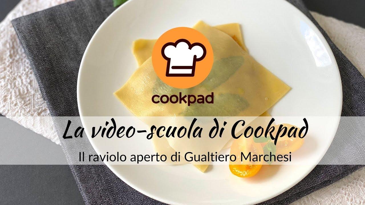 Il Raviolo Aperto Di Gualtiero Marchesi Corso Sulla Pasta Fresca D Autore Lezione 3 Youtube