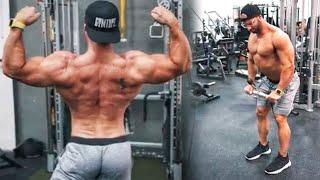 rutina de hombro y trapecio gym topz