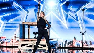 Josephine Lee: Lovely HOT Magician With SCARY GHOST Magic | Auditions 3 | Britain's Got Talent 2017