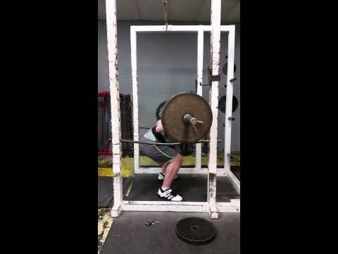 405 Squat Form Check