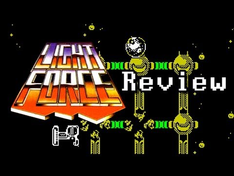 LGR - Lightforce - ZX Spectrum Game Review