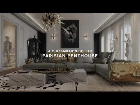 A MULTI-MILLION DOLLAR PARISIAN PENTHOUSE