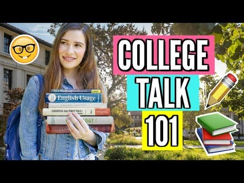 College Talk 101 | Everything You Need to Know About College! from YouTube · Duration:  16 minutes 52 seconds