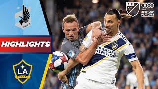 Minnesota United vs. LA Galaxy | Can Zlatan Inspire Galaxy to Playoff Glory? | HIGHLIGHTS