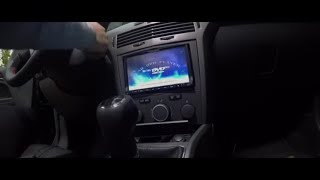 Opel Astra H Corsa C Zafira B CD Salpicadero Panel Completo Kit de Montaje Plata