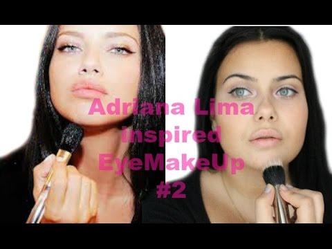 Adriana Lima inspired Eye Makeup #2