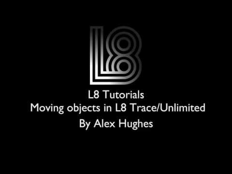 L8 Tutorials: Moving Objects via DMX Control (L8 Trace/Unlimited Only)