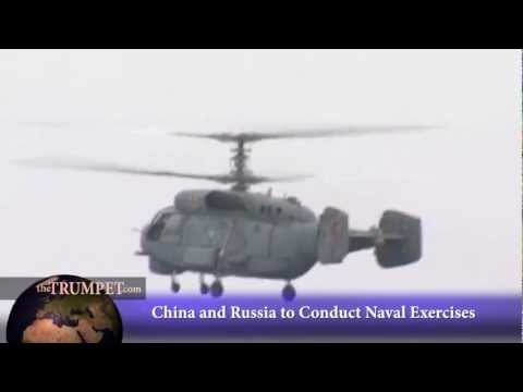 China and Russia to Conduct Naval Exercises